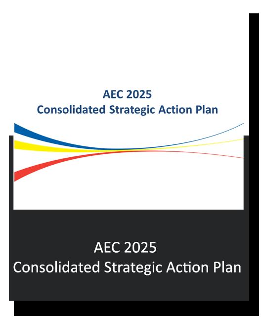 AEC 2025 Consolidated Strategic Action Plan (CSAP)